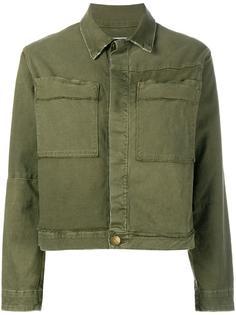 куртка с накладными карманами Current/Elliott