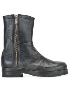 ботинки с эффектом потертости Alberto Fasciani