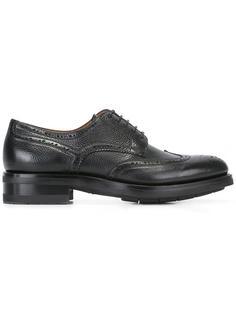 туфли броги Santoni