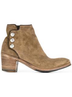 ботинки с пуговицами Alberto Fasciani