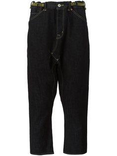 джинсы с заниженным шаговым швом Ganryu Comme Des Garcons