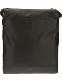 сумка-почтальонка в ромбовидный принт Emporio Armani