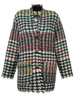 твидовая куртка 'Diana' в ломаную клетку Isabel Marant