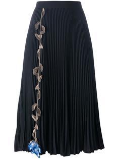 плиссированная юбка Christopher Kane