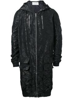 удлиненная куртка-бомбер с капюшоном Strateas Carlucci