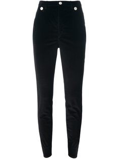 skinny button detail trousers Isabel Marant