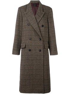 пальто 'Flint' в клетку Isabel Marant