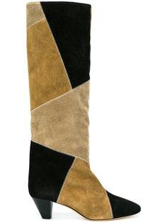 сапоги 'Ross' с лоскутным дизайном Isabel Marant