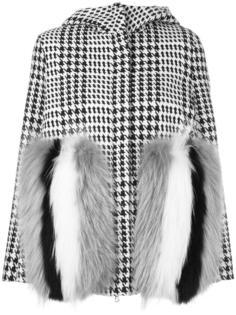 куртка с оторочкой мехом енота Ava Adore