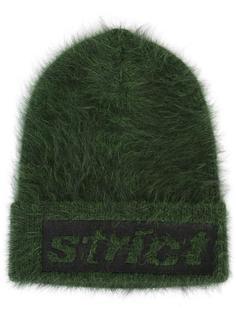 шапка-бини с надписью 'Strict' Alexander Wang