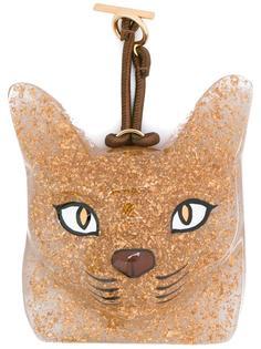 брелок в форме кошки Loewe