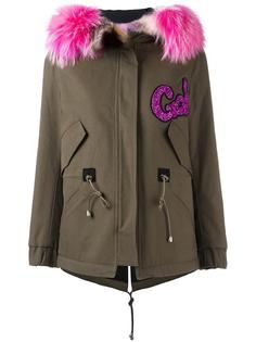 fur collar parka  Forte Couture