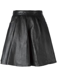 кожаная юбка Jeremy Scott