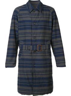 полосатый тренч Engineered Garments