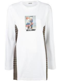 свитер с принтом Aalto