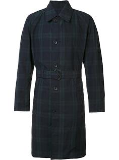 checked trench coat  Engineered Garments