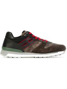 кроссовки с панельным дизайном  Hogan Rebel