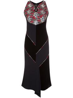 floral print dress Roland Mouret