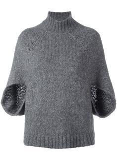 свитер с укороченными рукавами  Barba