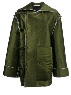 off-centre bow fastening jacket J.W.Anderson