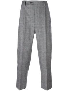 glen plaid tailored trousers Lc23