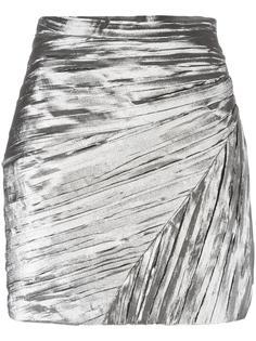 плиссированная юбка  Saint Laurent