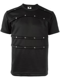футболка с заклепками Comme Des Garçons Homme Plus
