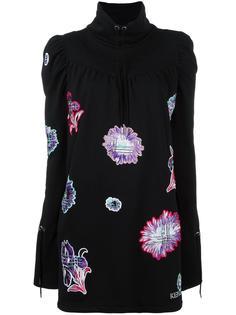 платье с вышивкой 'Dendelion' Kenzo
