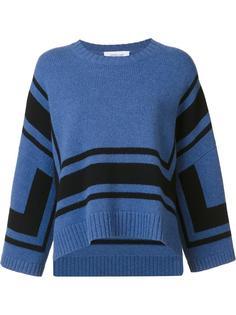 свободный свитер в полоску Derek Lam 10 Crosby