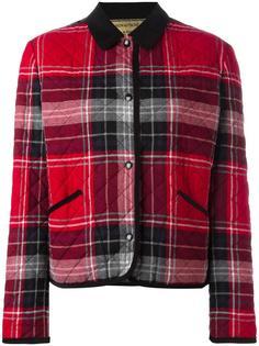 куртка в клетку Maison Kitsuné
