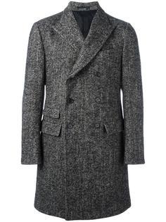 двубортное пальто Ermenegildo Zegna