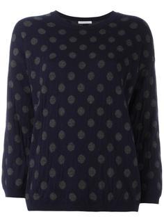 пуловер с узором в горох Société Anonyme