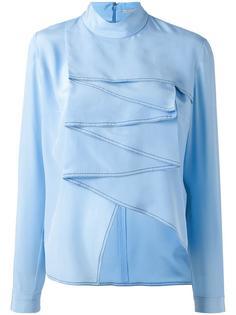 блузка с драпировкой Marco De Vincenzo
