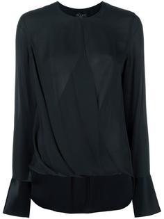 блузка с драпировкой Rag & Bone