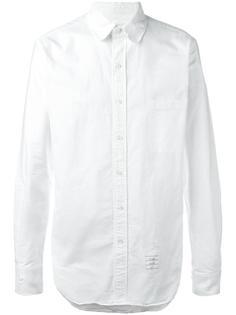 рубашка с потертой отделкой Thom Browne