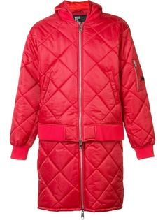'Against' quilted bomber jacket Hood By Air