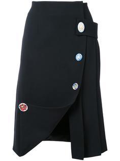 юбка с запахом Christopher Kane