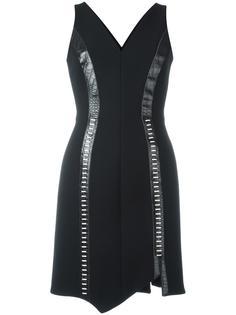 платье с асимметричным подолом Mugler