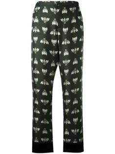 укороченные брюки с принтом For Restless Sleepers