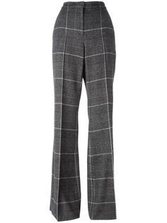 расклешенные брюки в клетку Calvin Klein