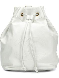 рюкзак со сборкой  Chanel Vintage