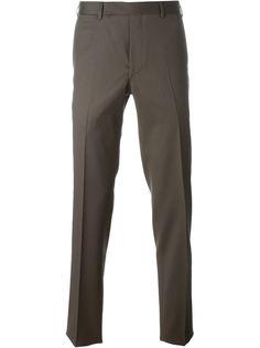 классические брюки кроя слим Fashion Clinic