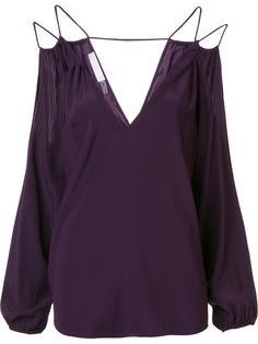 блузка с V-образным вырезом и открытыми плечами Ramy Brook
