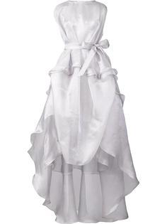 платье без рукавов с пышной юбкой Antonio Berardi