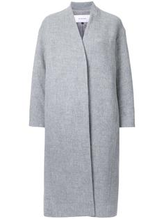 однобортное пальто Le Ciel Bleu