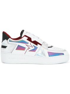 кроссовки с панельным дизайном Alberto Premi