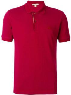 рубашка-поло с вышитым логотипом Burberry