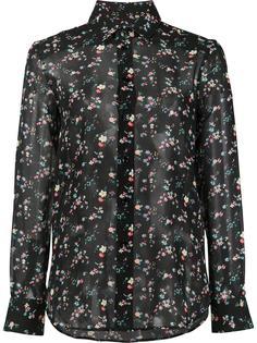 рубашка с узором Saint Laurent
