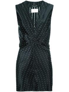 платье с принтом звезд Maison Margiela Vintage