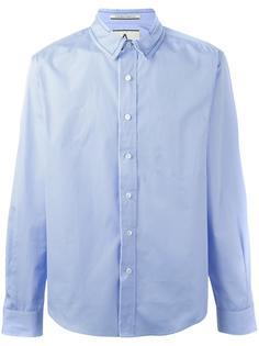 рубашка с контрастным воротником Andrea Pompilio